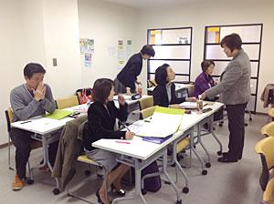 2012年11月東京高田の馬場での講座