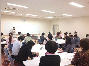 2013年10月高崎市民活動センターにてマナー講座
