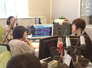 2013年7月ラジオ出演
