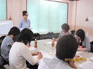 2013年6月進学塾サクセスにて心理学ミニセミナー